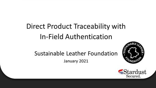 6. Stardust Materials: Embedded traceability technology